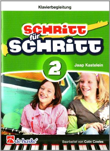 9789043131063: Schritt für Schritt 2- Klavierbegeleitung Klarinet - Piano Accompaniment - Book