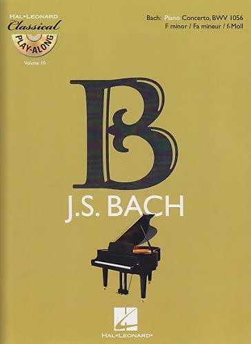 9789043132121: Piano Concerto in F Minor, BWV 1056