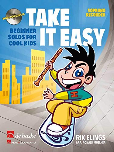 9789043132404: Take it easy flûte a bec+CD