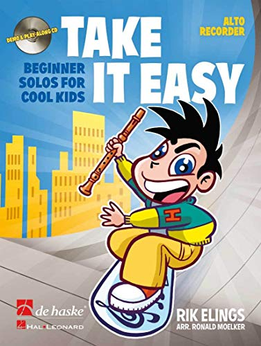 9789043132411: Take it easy flûte a bec+CD