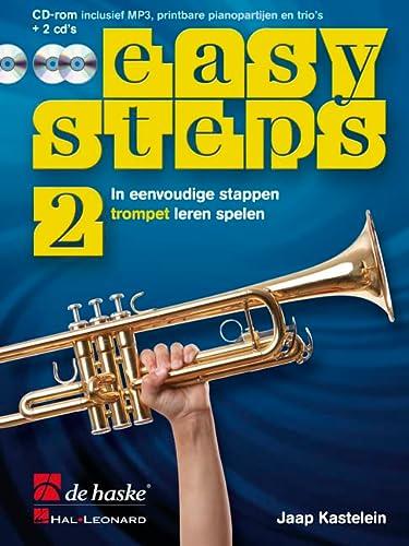 9789043133975: Easy steps 2 trompet trompette+CD+CD-ROM