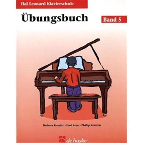 9789043134712: Hal Leonard Klavierschule Übungsbuch 05 + CD