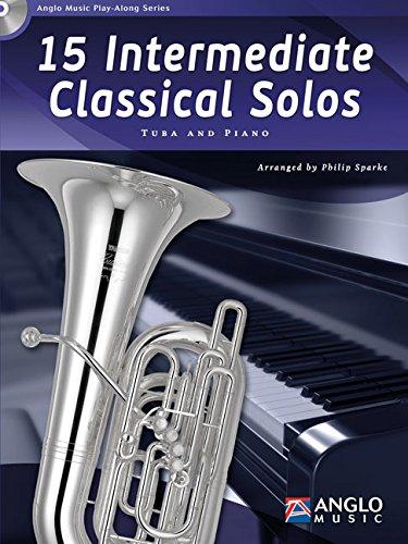 9789043135764: 15 Intermediate Classical Solos - C Tuba BC, Bb Tuba TC or Eb Tuba TC - BOOK+CD