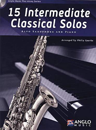 9789043135818: 15 Intermediate Classical Solos - BOOK+CD