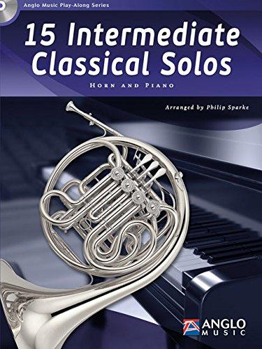 9789043135849: 15 Intermediate Classical Solos - BOOK+CD