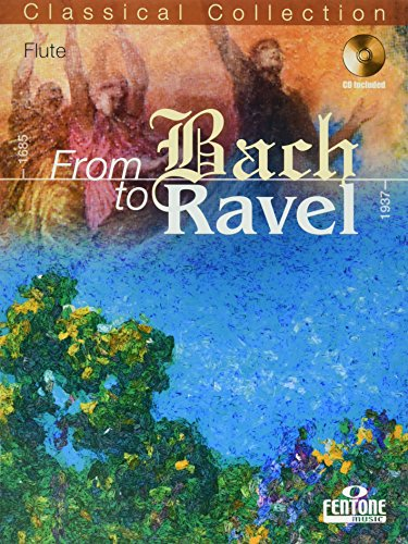 9789043136174: From Bach to Ravel - Flute Solo (with CD)