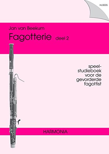 9789043136341: Fagotterie deel 2 - Bassoon - BOOK