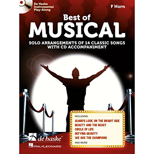 9789043140874: Best of Musical - F Horn - BOOK+CD