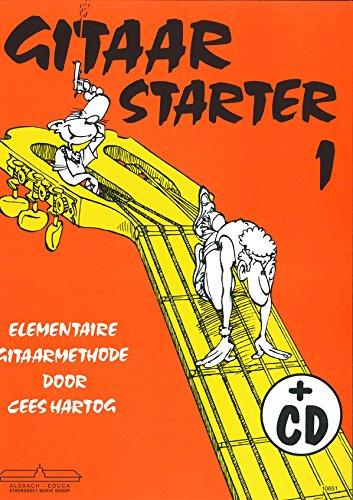 9789043145084: Gitaar Starter deel 1 - Guitar - BOOK+CD