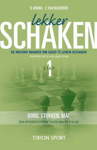 9789043905626: Lekker schaken / Stap 1 bord/stukken/mat