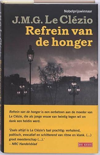 Refrein van de honger: Clezio, J.M.G. Le