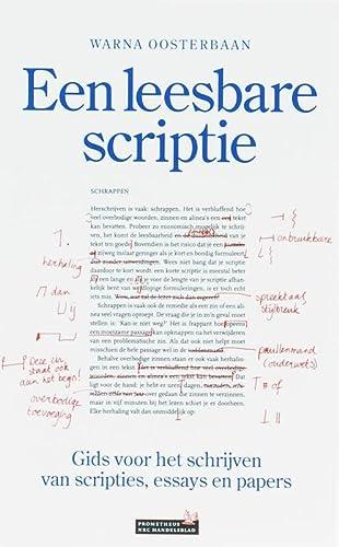 Een leesbare scriptie: gids voor het schrijven: Oosterbaan, Warna