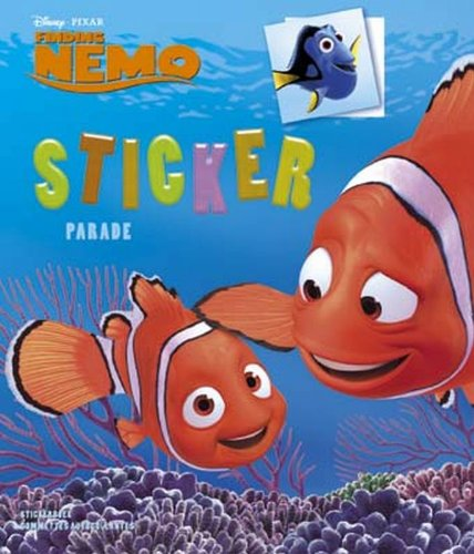 9789044709001: Disney Sticker Parade Finding Nemo X3