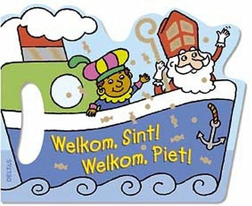 Welkom, Sint! Welkom, Piet!: HANDVATKARTONBOEK: ZNU