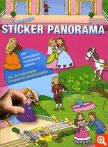 9789044721218: Super Sticker Panorama Princesses : Avec des autocollants transparents repositionnables