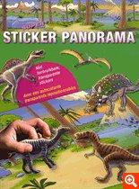 9789044721225: Super sticker panorama Dinosaures : Avec des autocollants transparents repositionnables