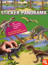 9789044721225: Super sticker panorama - Dinosaures
