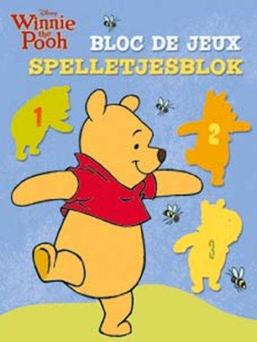 9789044730418: Disney Winnie the Pooh bloc de jeux : Edition français-néerlandais