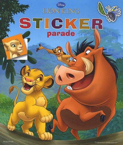 9789044733426: disney sticker parade lion king