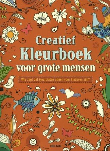 Creatief kleurboek voor grote mensen: wie zegt