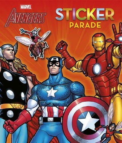 9789044736205: The avengers sticker parade