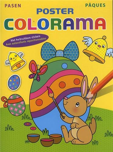 PAQUES POSTER COLORAMA: COLLECTIF
