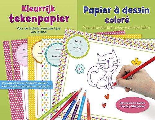 9789044741827: Papier à dessin coloré pour les petits chefs-d'oeuvre de votre enfant