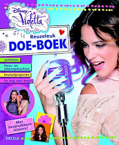 9789044743180: Disney reuzeleuk doe-boek Violetta