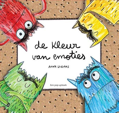 9789044823158: De kleur van emoties / druk 1: een pop-up boek