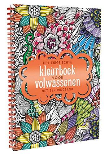 9789045318691: Het enige echte kleurboek voor volwassenen met een ringband