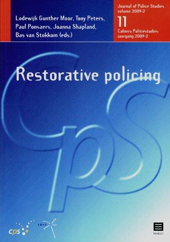 9789046602485: Restorative Policing (Cahiers Politiestudies/Journal of Police Studies)