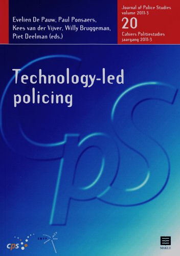 9789046604120: Technology-led Policing: Journal of Police Studies, Volume 2011-3, nr. 20 (CPS (Journal of Police Studies) Series)