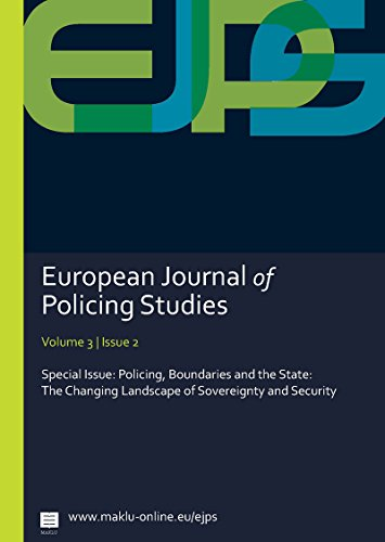 9789046607978: Policing, Boundaries and the State: The Changing Landscape of Sovereignty and Security (EJPS - European Journal of Policing Studies)