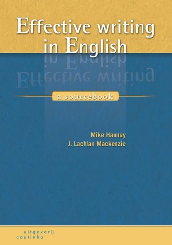 9789046901618: Effective writing in English: a sourcebook