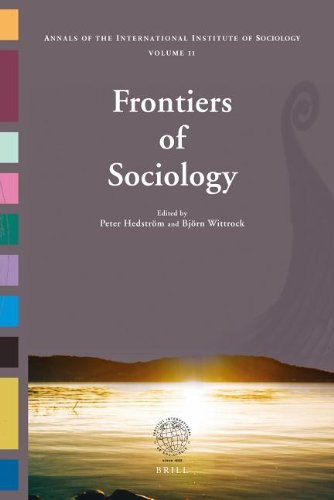 9789047442462: Frontiers of Sociology: The Annals of the International Institute of Sociology Volume 11