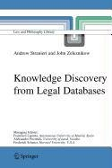 9789048101627: Knowledge Discovery from Legal Databases