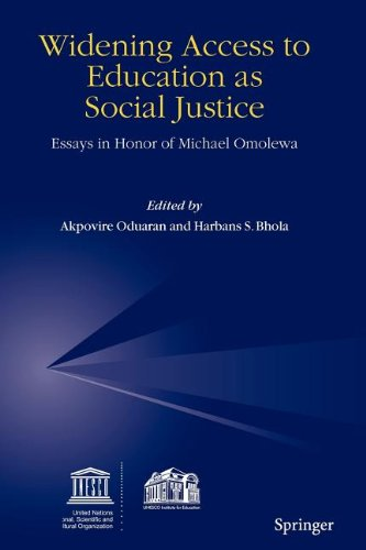 9789048106929: Widening Access to Education as Social Justice