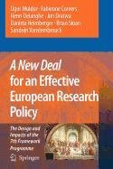 9789048111480: A New Deal for an Effective European Research Policy
