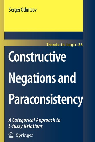 9789048116300: Constructive Negations and Paraconsistency