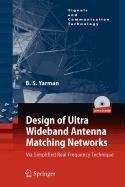 9789048119912: Design of Ultra Wideband Antenna Matching Networks