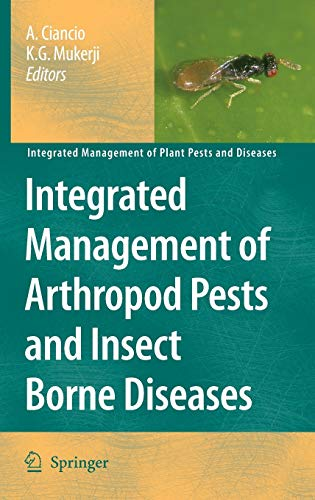 Integrated Management of Arthropod Pests and Insect Borne Diseases (Hardback)