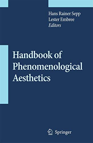 9789048124701: Handbook of Phenomenological Aesthetics (Contributions To Phenomenology)