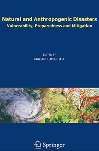 Natural and Anthropogenic Disasters (Hardback)