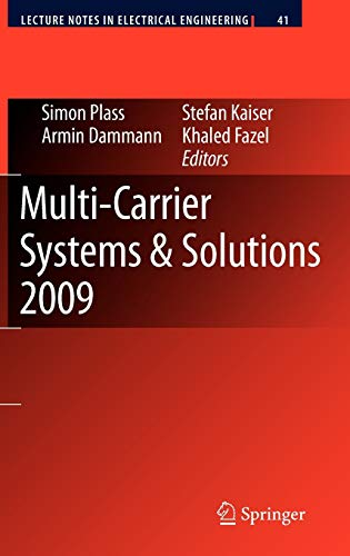 Multi-Carrier Systems & Solutions 2009: Simon Plass
