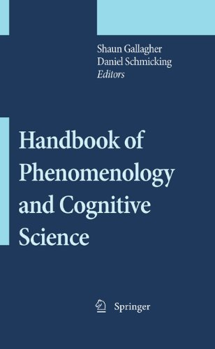 9789048126453: Handbook of Phenomenology and Cognitive Science