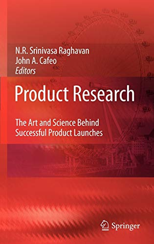 9789048128594: Product Research: The Art and Science Behind Successful Product Launches