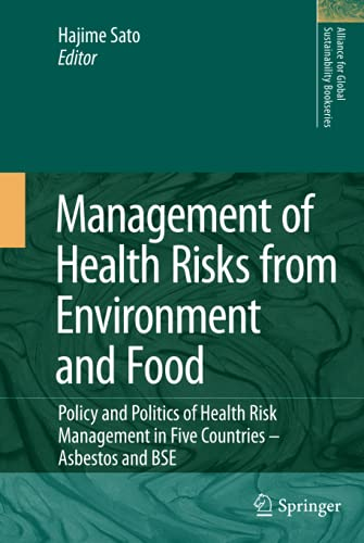 Management of Health Risks from Environment and Food (Hardback)