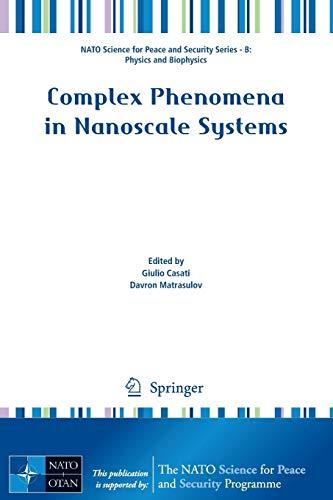 Complex Phenomena in Nanoscale Systems