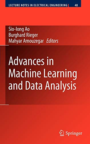 9789048131761: Advances in Machine Learning and Data Analysis (Lecture Notes in Electrical Engineering)