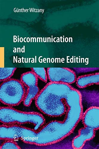9789048133185: Biocommunication and Natural Genome Editing